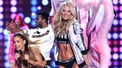 A Victoria's Secret Angel Smacked Ariana Grande In The Face. It Was