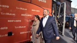 Mulcair Accuses Harper Of Giving Big Companies Tax-Relief