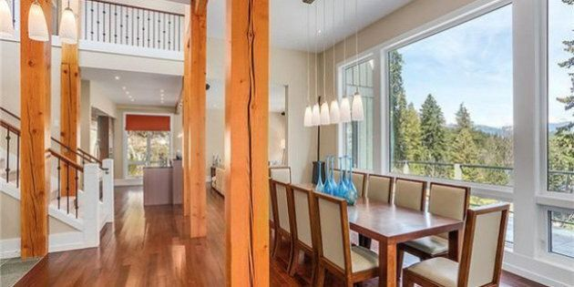 Whistler Estate For Sale Is A Getaway Into The Forest