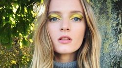 Golden Eyes And More Celeb Beauty Looks We Loved On Instagram This