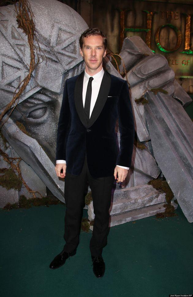 Benedict Cumberbatch Brings Back The #Cumbervelvet