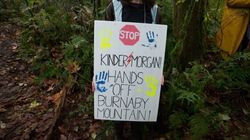 Protesters Unapologetic About Taking Kids Across B.C. Police