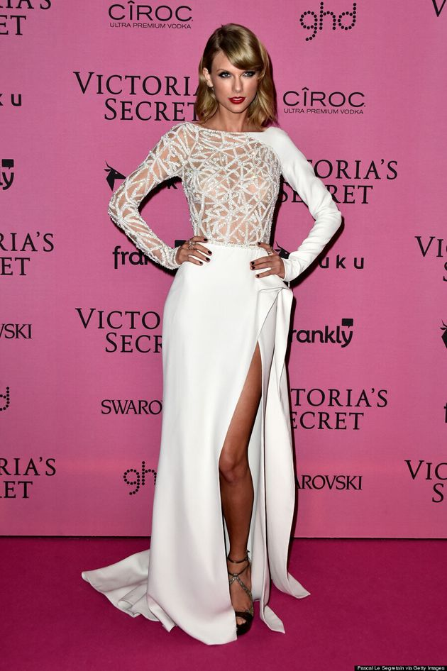 Taylor Swift's Victoria's Secret Fashion Show Outfits Stole The