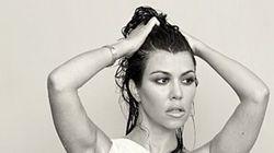 Kourtney Kardashian Is Naked, Pregnant And Beautiful In DuJour