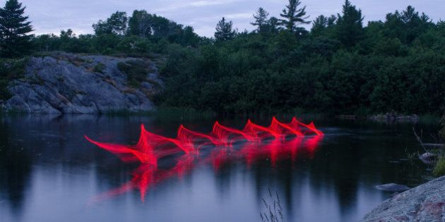 Colourful Paddling Pictures Bring Ontario Lakes To