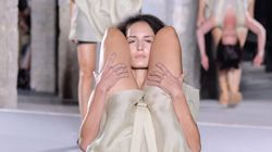 Rick Owens Uses Human Backpacks For Spring 2016 Runway