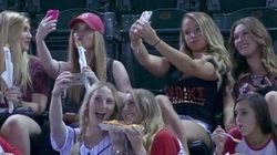 Baseball Announcers Can't Stop Mocking These Selfie-Taking