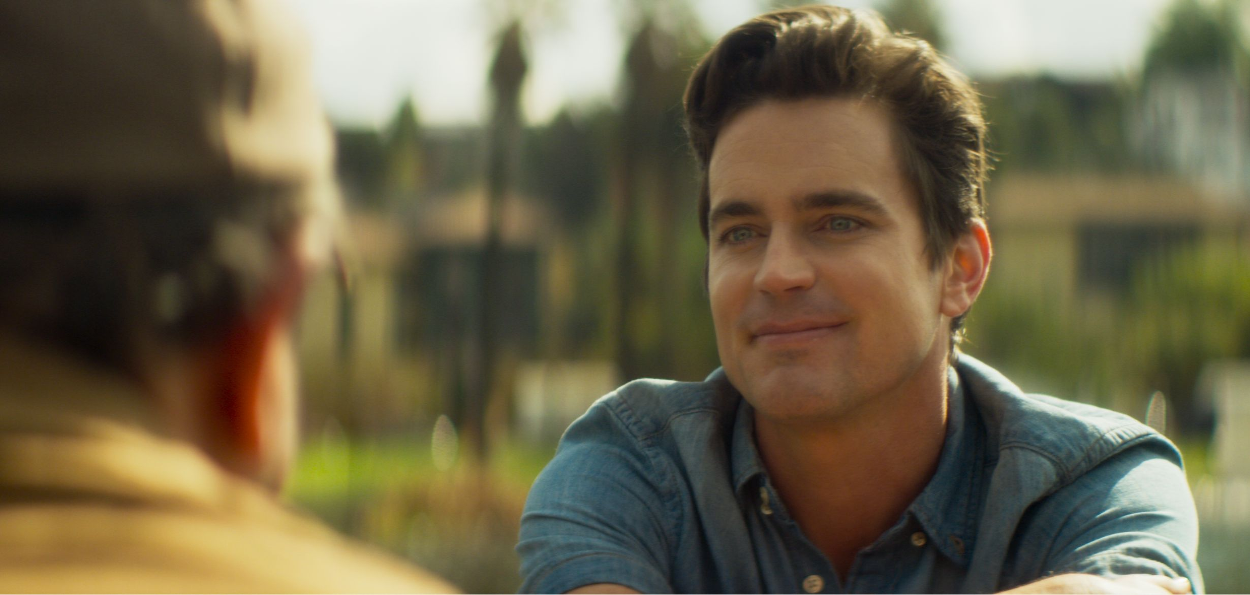 In 'Papi Chulo,' Matt Bomer Helps Put A Topical Twist On The Classic Buddy