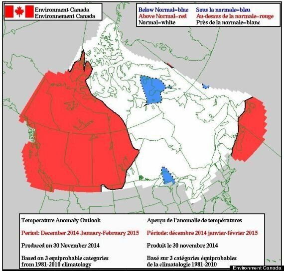 Environment Canada's Winter Weather Forecast Is Reason To