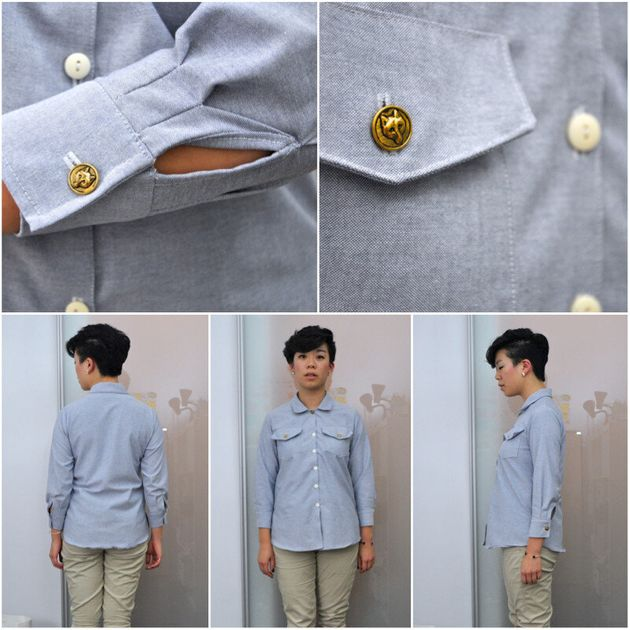 Wednesdays With Wendy: How To Make A Denim Button Up
