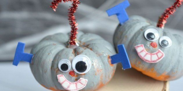 Painted Pumpkins: No-Carve Ideas Your Kids Will Love This
