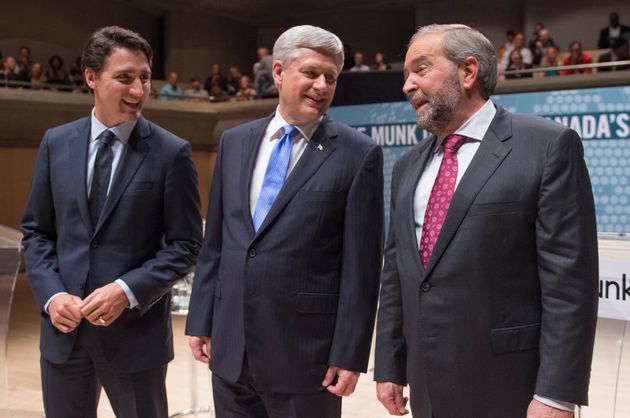 Vote Splitting: How Mulcair And Trudeau May Be Handing Victory To Harper