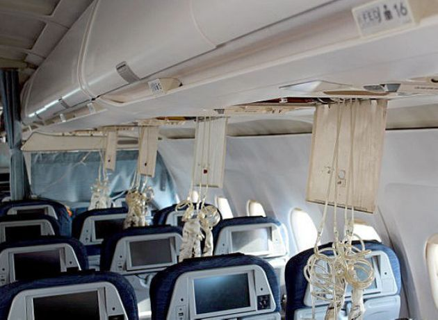 Photos Show Damage Inside Air Canada Plane That Crashed In Halifax During Winter
