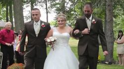 Daughter Gets The Biggest Surprise On Her Wedding