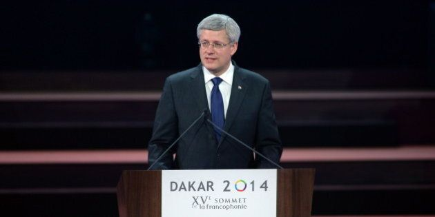 Harper Calls On La Francophonie To Put An End To Forced