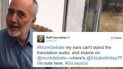 Raffi Sums Up Debate-Watching Experience In 1