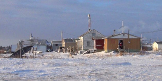ATTAWAPISKAT, ON - DECEMBER 29: A year has passed since the Star was in Attawapiskat. This view, and...