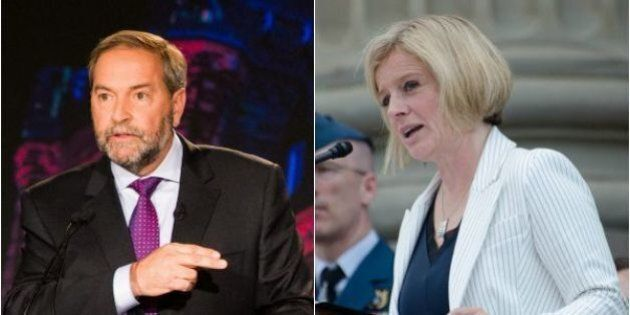 Notley May Stray From Federal NDP On