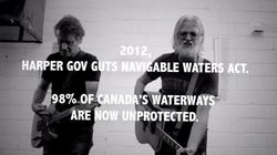 Blue Rodeo Says Harper Is 'Stealin' All My
