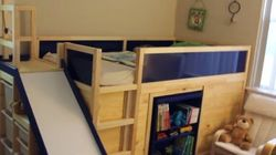 Dad's IKEA Hack Is 'Most Awesome' Kids' Bed