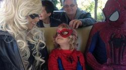 Six-Year-Old 'Spider-Mable' Is Here To Save