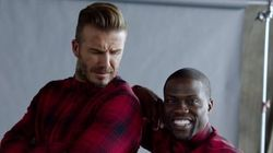 Watch David Beckham And Kevin Hart's Hilarious H&M Video In