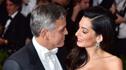 Here's How George And Amal Clooney Celebrated Their First Wedding