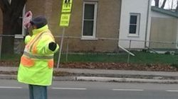 Crossing Guard Told To Stop High-Fiving