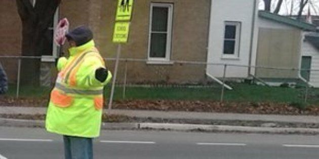 Peterborough Crossing Guard Bill White Told To Stop High-Fiving