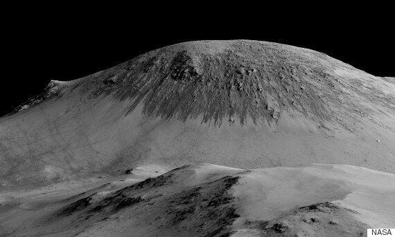 Mars Has Liquid Water, Scientists Report.. At Least In