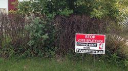 'Stop Vote Splitting' Proclaims Calgary Strategic Voting