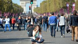 Paris Went Car-Free On Sunday. Here's What It Looked