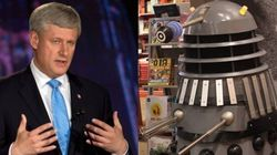 Attention Doctor Who Fans: There's A Dalek Harper And It's Coming For