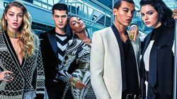The First H&M x Balmain Ad Is Here And It's