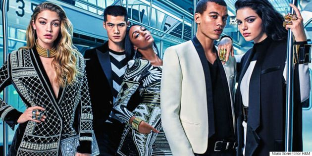 Kendall Jenner, Gigi Hadid And Jourdan Dunn Are The Faces Of Balmain x
