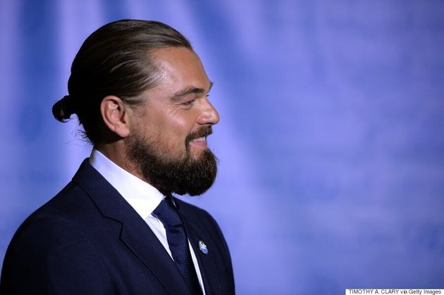 Leonardo DiCaprio Says Goodbye To The Man Bun and