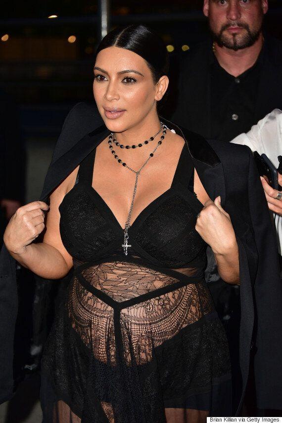 Kim Kardashian Shares Steamy Snaps At 3 Months