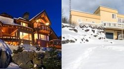 LOOK: The Most Epic Ski Homes For Sale In