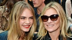Cara Delevingne And Kate Moss Bond Over Sexy 'Selfie Swap'