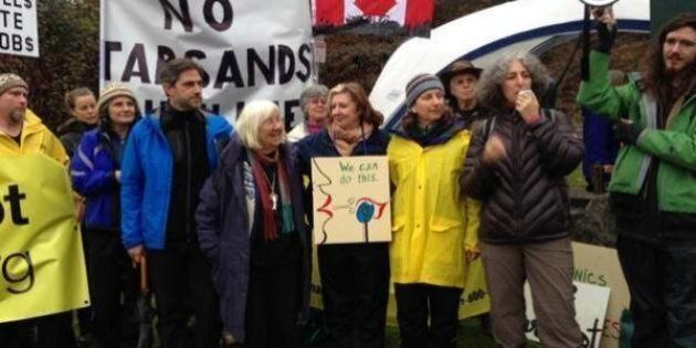 Kinder Morgan Protest Joined By Clayoquot Sound