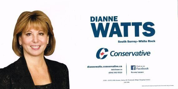 Dianne Watts Angers Voters With 'Fear-Mongering' Conservative Party