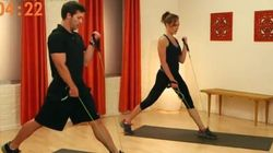 This Resistance Band Workout Only Takes 10