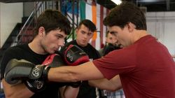 Trudeau Goes Boxing Before French-Language