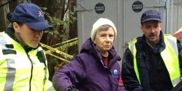 84-Year-Old Kinder Morgan Protester Willing To Go To Jail Over Pipeline