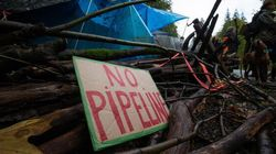 Protesters Square Off Against Kinder Morgan on the