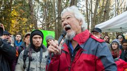 ► David Suzuki Blasts RCMP At Burnaby