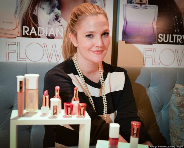 Drew Barrymore Talks Flower, Makeup Tips And Why She Likes Being In