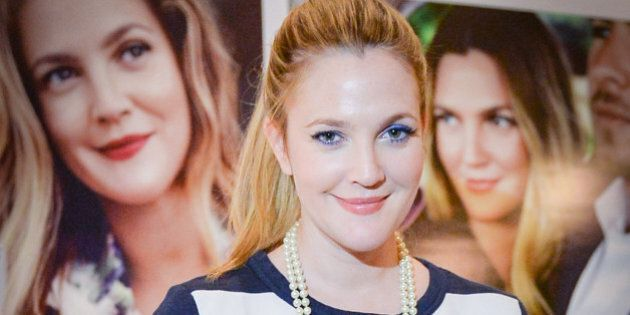 TORONTO, ON - NOVEMBER 12: Actress Drew Barrymore launches Flower - Love The Way You Look at the Thompson...