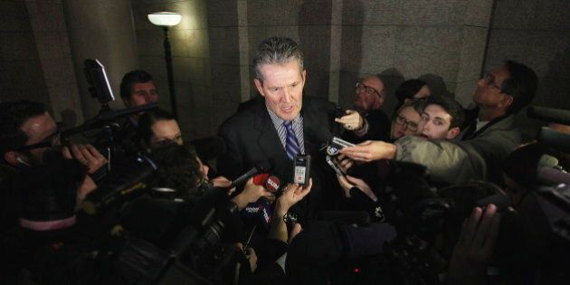 Brian Pallister, Manitoba Tory Leader, Attempts To Topple