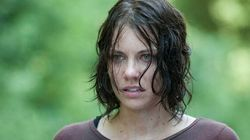 'The Walking Dead's' Maggie Cleans Up